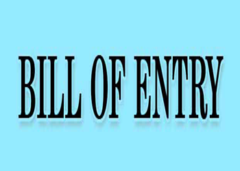 Fresa-bill of entry