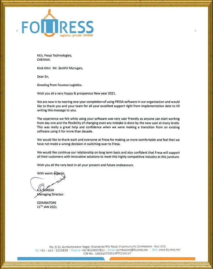 Fouress Logistics
