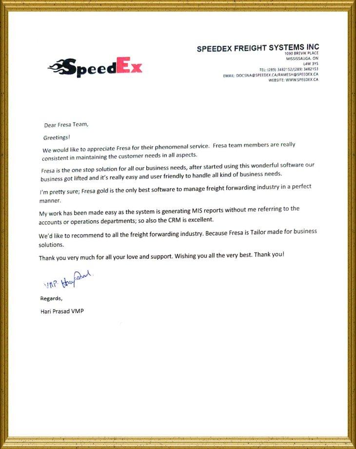Speedex Freight